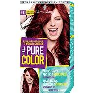 SCHWARZKOPF PURE COLOR 6.88 Malinová červená 60 ml - Farba na vlasy
