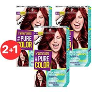 SCHWARZKOPF PURE COLOR 6.88 Malinová červená 3× 60 ml - Farba na vlasy