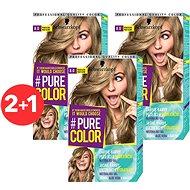 SCHWARZKOPF PURE COLOR 8.0 Pravá blond 3× 60 ml - Farba na vlasy