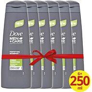 DOVE Men+ Care Fresh Clean 2v1 6 × 250 ml