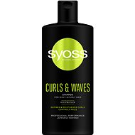 SYOSS Curls & Waves Shampoo 500 ml - Šampón