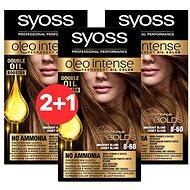 SYOSS Oleo Intense 8-60 Medově plavý 3× 50 ml - Farba na vlasy