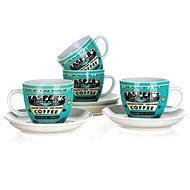 BANQUET súprava šálok COFFEE A11738
