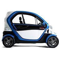 VXT 2 QUADRO Modro-biela - Elektromobil