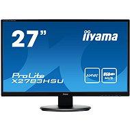 "27"" iiyama ProLite X2783HSU - LCD monitor"
