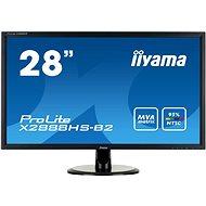 "28"" iiyama ProLite X2888HS-B2 - LCD monitor"
