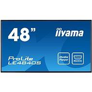 """48"""" iiyama ProLite LE4840S-B1 - Veľkoformátový displej"""