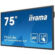 """75"""" iiyama ProLite TE7568MIS-B1AG - Veľkoformátový displej"""