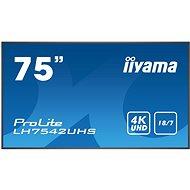 "75"" iiyama ProLite LH7542UHS-B1 - Veľkoformátový displej"