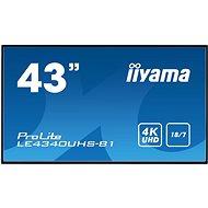 """43"""" iiyama LE4340UHS-B1 - Veľkoformátový displej"""