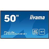 """50"""" iiyama LE5040UHS-B1 - Veľkoformátový displej"""