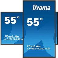 "55"" iiyama ProLite LH5542UHS-B3 - Veľkoformátový displej"