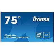"""75"""" iiyama LE7540UHS-B1"""