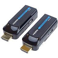 PremiumCord HDMI FULL HD extender na 50 m cez jeden kábel Cat6 - Extender