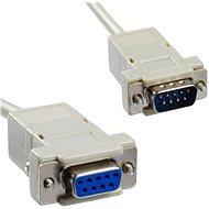 PremiumCord Predlžovací kábel – myš 9 pin rozoberací - Dátový kábel