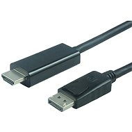 PremiumCord DisplayPort – HDMI M/M - Video kábel