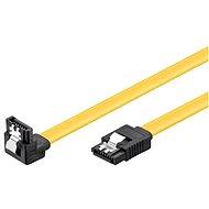 PremiumCord SATA III 90° 0.2 m - Dátový kábel