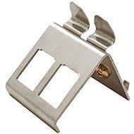 Roline Držiak pre 2× keystone na DIN lištu, kovový - Držiak