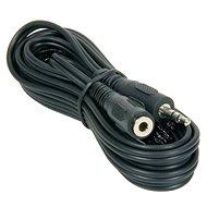 PremiumCord jack M 3,5 -> jack F 3,5, 10 m - Audio kábel