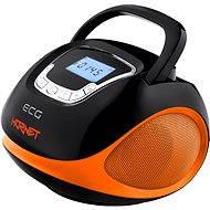 ECG R 500 U oranžové - Rádiomagnetofón