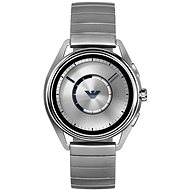 Emporio Armani Matteo Stainless Steel Silver - Smart hodinky