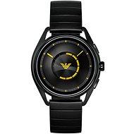 Emporio Armani Matteo Stainless Steel Black - Smart hodinky