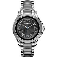 Emporio Armani Alberto Stainless Steel Silver - Smart hodinky