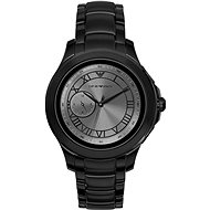 Emporio Armani Alberto Stainless Steel Black - Smart hodinky