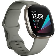 Fitbit Sense Sage Grey/Silver Stainless-Steel