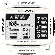 Lezyne Mega XL GPS White