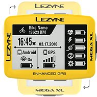 Lezyne Mega XL GPS Yellow