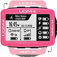 Lezyne Mega XL GPS Pink - Bike Computer