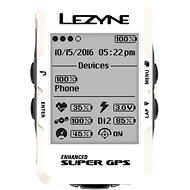 Lezyne Mega C GPS White