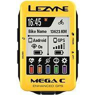 Lezyne Mega C GPS Yellow