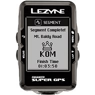 Lezyne Super GPS Black - Cyklocomputer