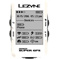 Lezyne Super GPS White