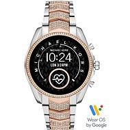 Michael Kors Gen5 Bradshaw Pavé RoseGold/Silver Nehrdzavejúca oceľ - Smart hodinky