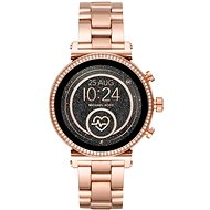 Michael Kors Sofie Heart Rate Rose Gold-Tone - Smart hodinky