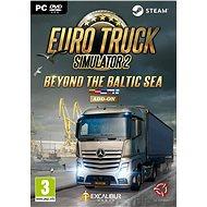 Euro Truck Simulator 2: Pobaltie - Herný doplnok