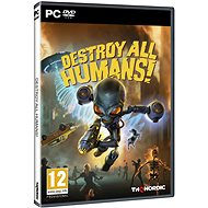 Destroy All Humans! - Hra na PC