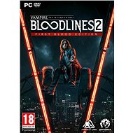 Vampire: The Masquerade Bloodlines 2 – First Blood Edition