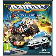 Micro Machines World Series - Hra na PC