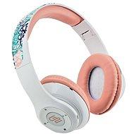Gogen HBTM 42 STREET G bielo-ružové - Bluetooth slúchadlá