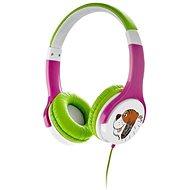 Gogen Maxi G ružovo-zelené - Slúchadlá