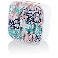 Gogen BS 034 STREET G bielo-ružový - Bluetooth reproduktor