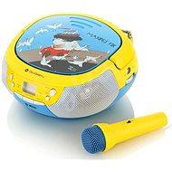 Gogen Maxi prehrávač B modro-žltý - Rádiomagnetofón