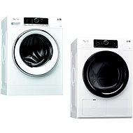 WHIRLPOOL FSCR 80423 + WHIRLPOOL HSCX 80530 - Set práčka a sušička