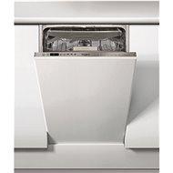 WHIRLPOOL WSIO 3O34 PFE X - Vstavaná umývačka riadu úzka