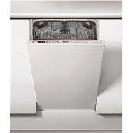 WHIRLPOOL WSIO 3T125 6PE X - Vstavaná umývačka riadu úzka