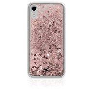 White Diamonds Sparkle pre Apple iPhone XR – ružovozlaté srdce